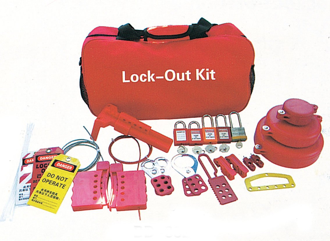 lockout tagout kit buy lockout hasp locksecurity lockouttagout kit product on alibabacom - Lock Out Tag Out Kits