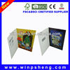 lcd screen greeting card/invitation lcd video greeting card