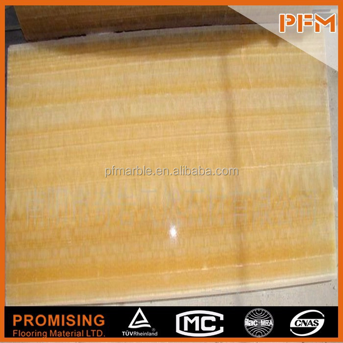 2015 manufactory price wholesale high quality natural transparent honey onyx composite glass flooring tiles