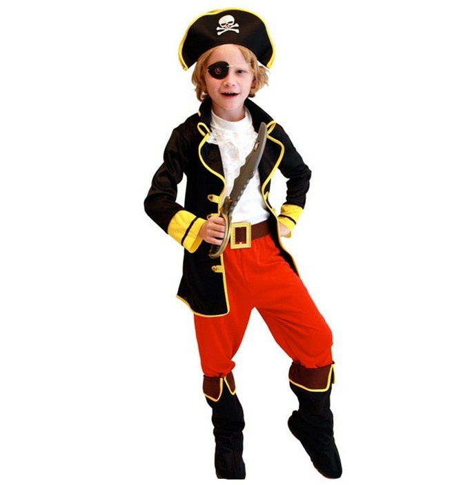 Kids Boys Pirate Costumes Cosplay Costumes For Boys Halloween