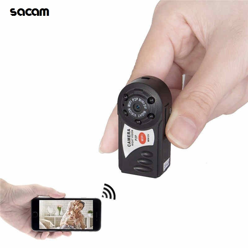Cheapest New Mini Wifi Two Way Audio Security IP Camera Night Vision Wireless Camera Q7 for Smart Home Micro Nanny Cam