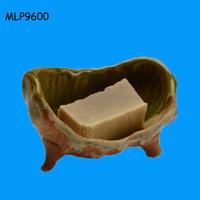 Bathroom accessories handmade bathtub shaped soap dish