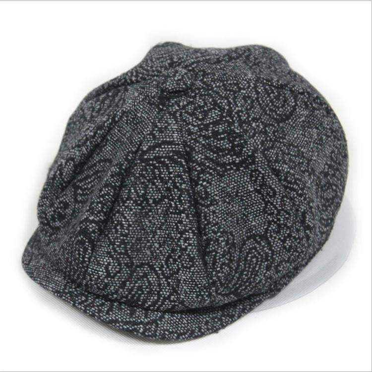 0796f902841 Fashion Herringbone Tweed Gatsby Newsboy Cap Men Wool Ivy Hat Golf Driving  Flat Cabbie Flat Unisex Berets Hat