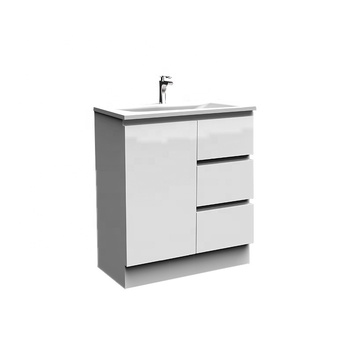 29 Inch Commercial Single Bathroom Vanity And Ceramic ...