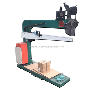 Semi-automatic corrugated Box stitching machine, servo model Stitching machine