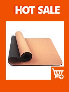 Sughero eco-friendly tappetino yoga disegno di stampa, sublimazione stuoia di yoga