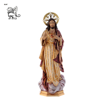 Custom made high quality life size resin Jesus Christ statue fiberglass religious sculpture RSD-076