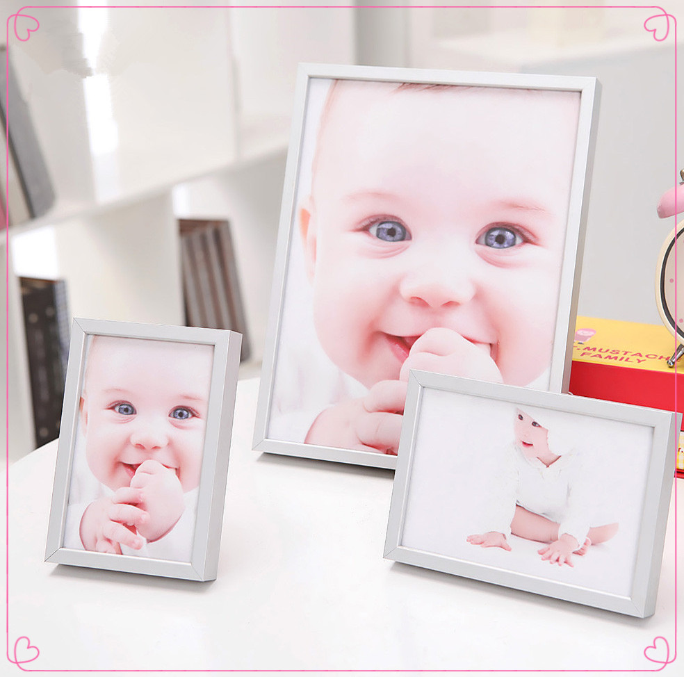 12 Month Baby Silver Vogue Photo Frame - Buy 12 Month Baby Photo ...