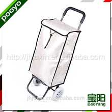 portable shopping trolley for promotion carton box
