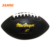 Professional American football custom logo rugby size 9 ball for outdoor training