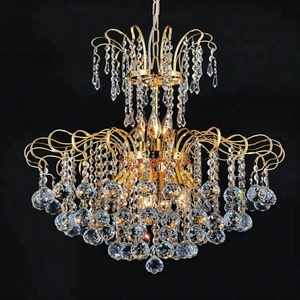Zhongshan Light Factory Acrylic Crystal Chain Chandelier For Wedding 6086