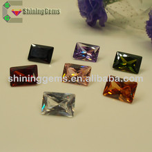 Most Popular synthetic colorful cut cubic zircon/stone