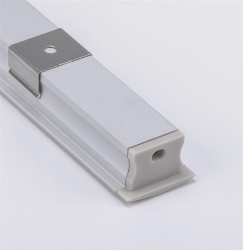 Shoe shelf linear lighting led profile led aluminum profile for linear light recessed led channel