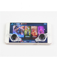 Mini Joystick on mobile phone screen for universal smartphone thumb controller