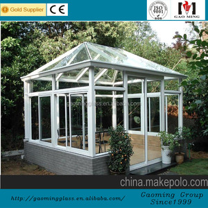 One stop solution, tempered glass sunroom sofa