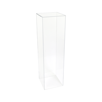 Customized Clear Acrylic Pedestal stand