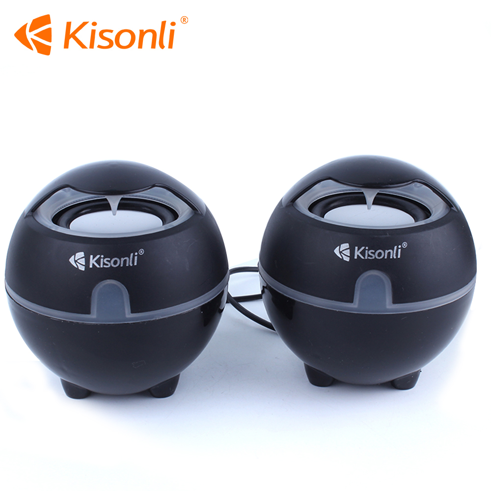 Desktop Mini Portable USB 2.0 Wired Powered Laptop Multimedia Computer Speaker 3.5mm