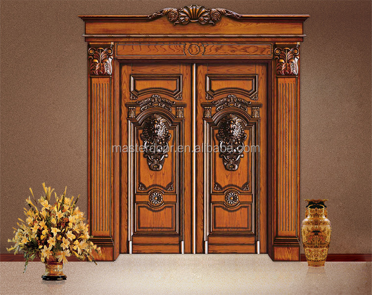 south indian modern solid wood front safety door designs view