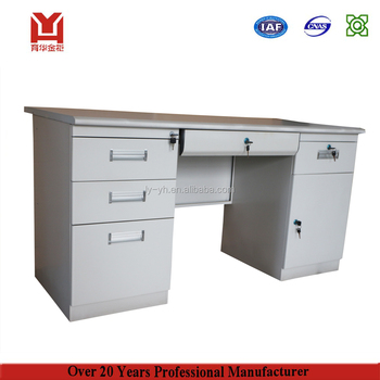 Genial Office Furniture Steel Cheap Metal High Quality Computer Table Design With  Price   Buy Steel Computer Table,Metal Computer Table,Computer Table Design  ...