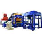 QT5-15 interlocking concrete block making machine paver brick making machine price