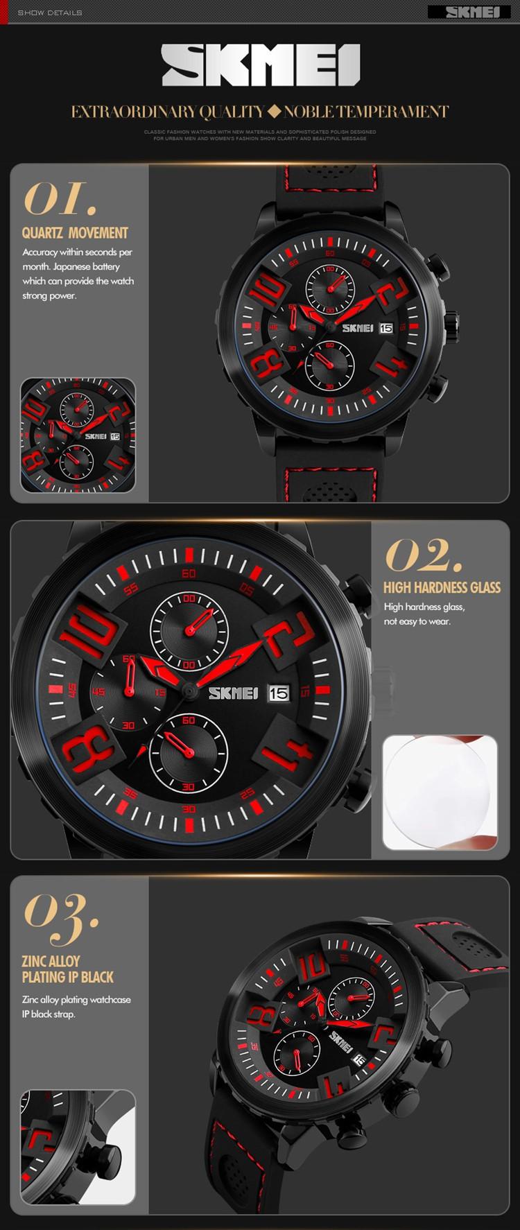 Tres Trabajando Dial Movt Reloj Lazada Relojes Alibaba Com