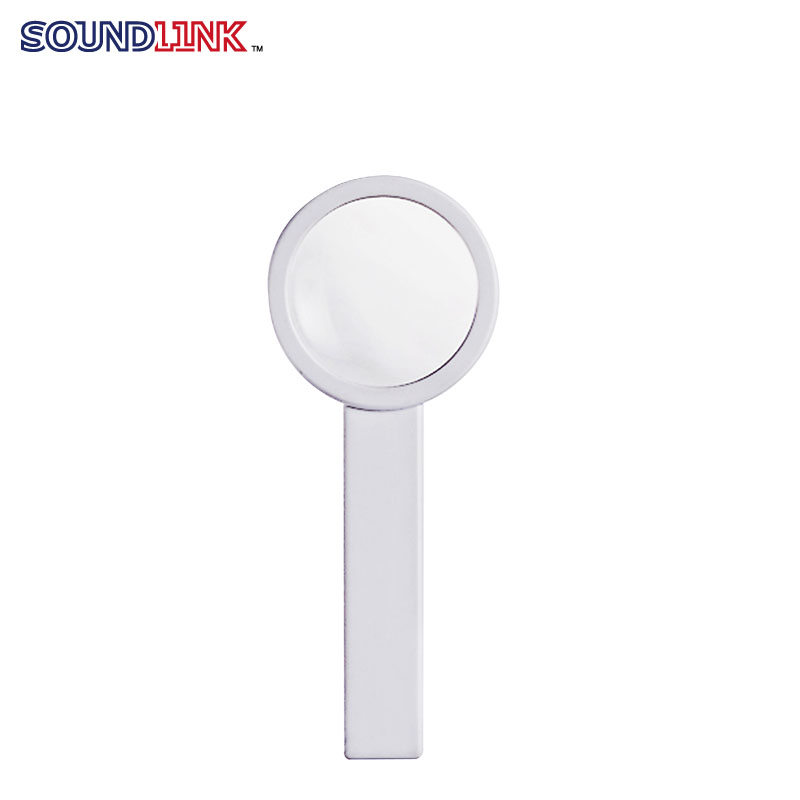 White color small plastic magnifying glass wholesale for china hearing aids