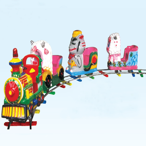 Amusement rides electric train children train rides in kids amusement park