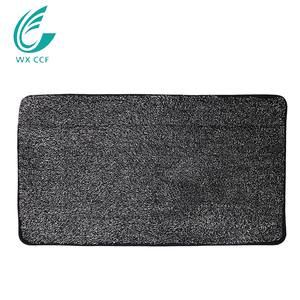 100% polyester anti-slip magic mud outdoor super absorbent foot mats