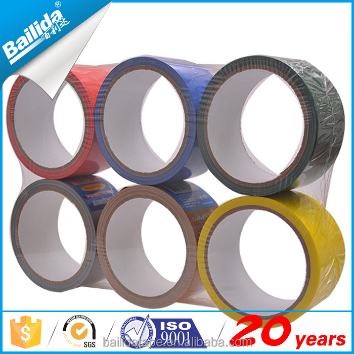Heavy duty colored duct tape manufacturers at china market