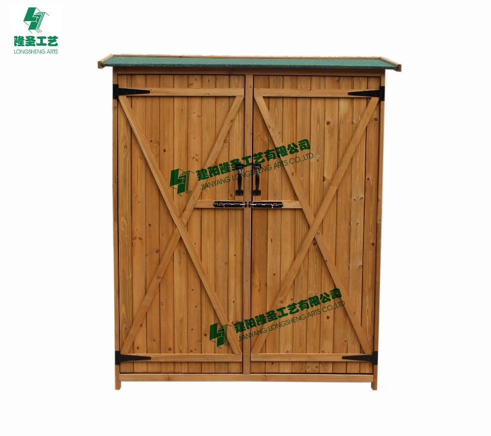 Outdoor Wood Cabinets: Waterproof Wooden Outdoor Storage Use In Garden