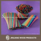 Colored Wooden Safety Match