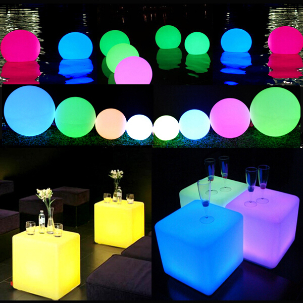 Beau Color Changing High Brightness Long Working Time Battery Powered Led Under  Banquet Table Lighting