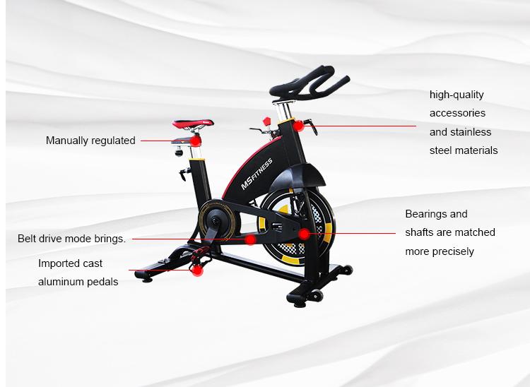 De alta calidad de bicicleta gimnasio bicicleta de bicicleta MBH fábrica