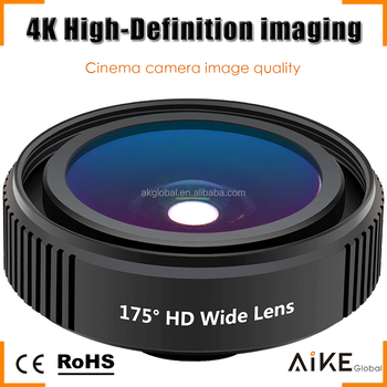 best website 48e39 b8e0f Professional Cinema Quality 4k Hd Distortionless Wide Angle Lens Cell Phone  Wide Camera Lens For Iphone 7 7 Plus - Buy Professional Wide Angle ...