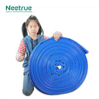 blue water delivery and discharge flexible hose pipe