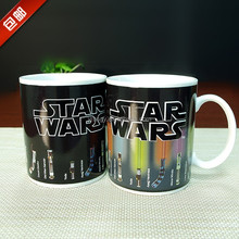 stock light saber stars wars color changing mug