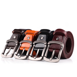 New fashion men leather belts for genuine leather belt men