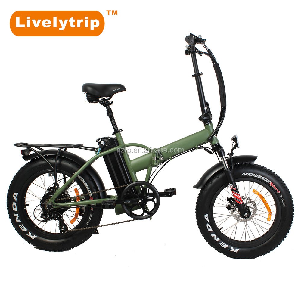 "Hot Sale Chinese 36v 350w Bici Electric <strong>Folding</strong> 20"" Fat Tire Electric Bike for sale"