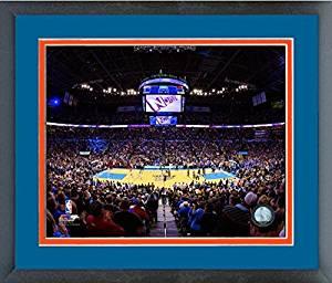 Get Quotations Chesapeake Energy Arena Oklahoma City Thunder Nba Stadium Photo Size 22 5 X 26