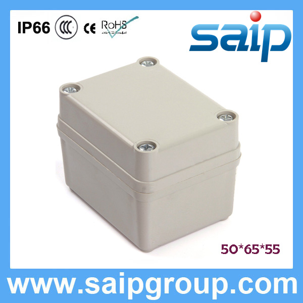 Saip New ABS Electricity Meter Box IP65 IP66 DS-AG-0506 50*65*55mm