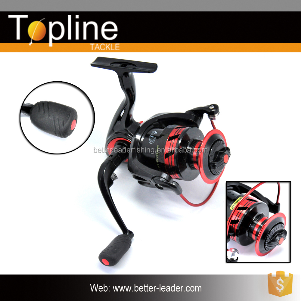 2017 Topline Tackle New Style Spinning Fishing Reel With Metal Handle