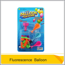 Hot selling plastic mini toy fluorescence toy balloon for wholesale OC0186552