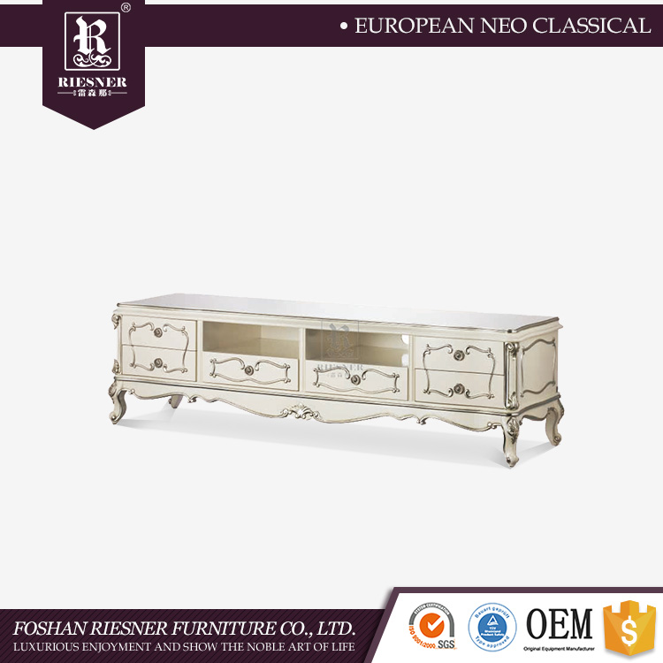 Wood furniture living room showcase design simple tv stand wood tv cabinet / Solid Wood new model tv cabinet with showcase