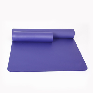 Eco-friendly anti slip NBR yoga mat sport mat and fitness mat