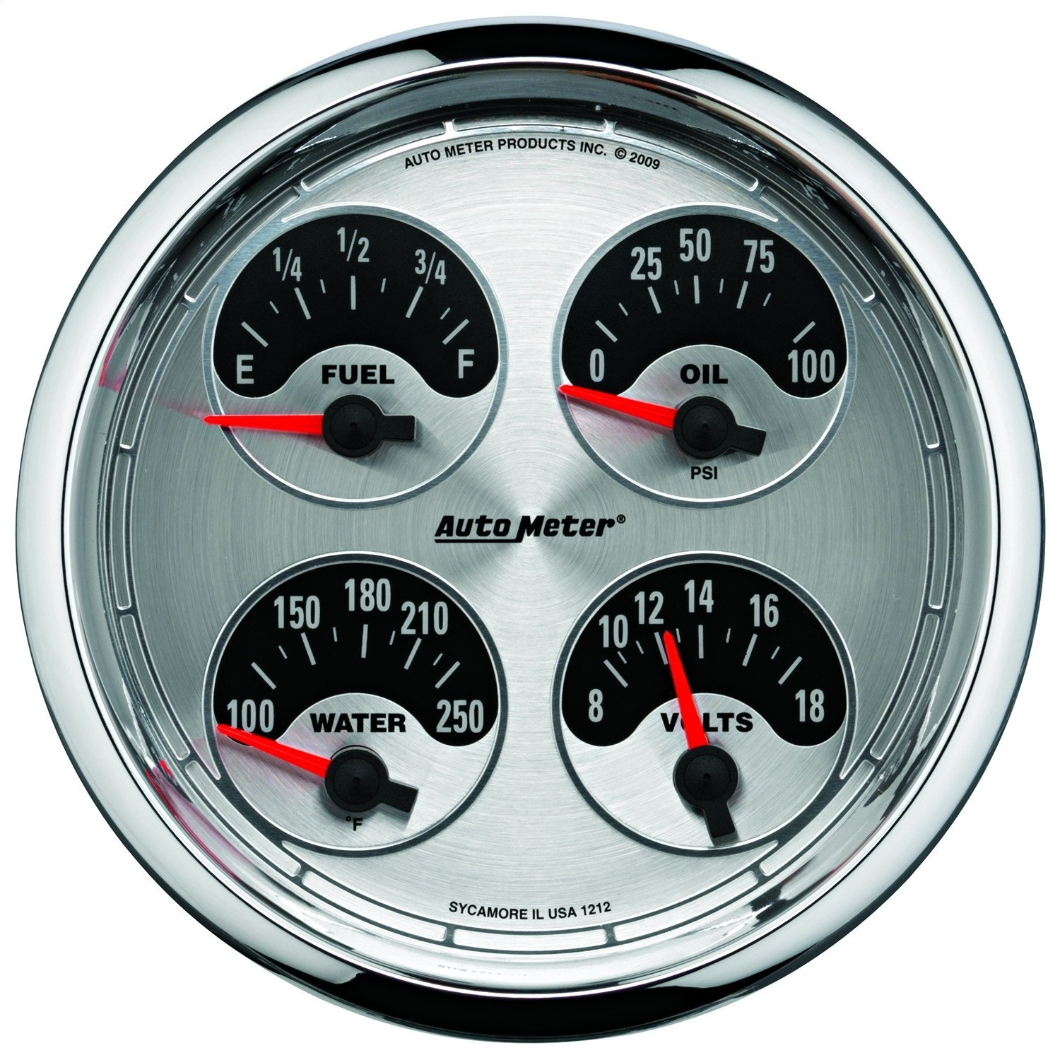 AutoMeter 9105 Ecometer Fuel Consumption Gauge