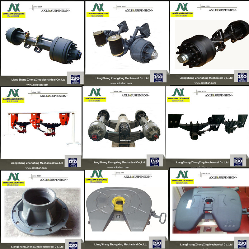 Reliable Factory Price Semi Trailer Axle In Truck Trailer Parts