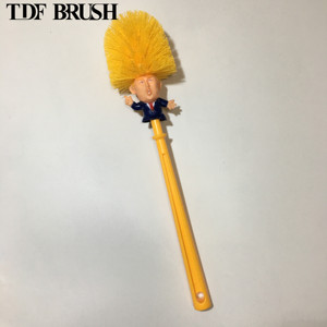 TDF cheaper price Donald Trump Toilet Bowl Brush with holder Funny Gag Gift Toilet Great Again