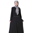Stock muslim women clothes black dubai abaya designs importer