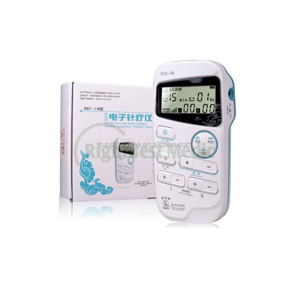SDZ-IIB electronic treatment acupuncture instruments with portable design low frequency pulse therapy