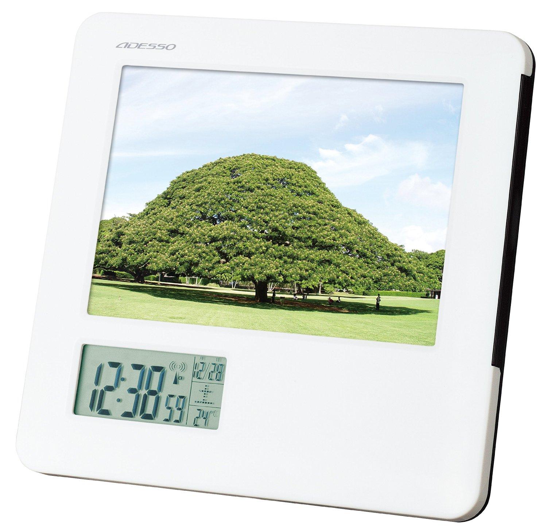 Buy Adesso (ADESSO) calendar radio clock TCA-051 in Cheap